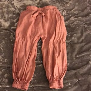 Super cuter joggers for toddler girl